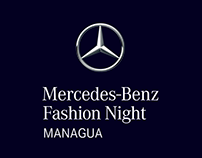 Branding Mercedes-Benz Fashion Night Managua 2016