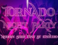 Free Font - Tornado Modern Serif