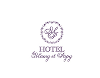 Logo for Hotel de Mamy et Papy Winner - Design Contest