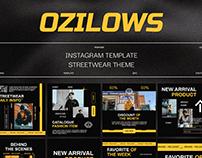 Ozilows Instagram Template