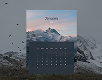 Freebie - Vector Calendar Design