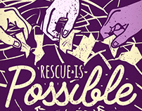 Rescue Is Possible - TWLOHA Poster
