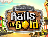 3D Game Buildings | Rails to Gold