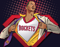 Dwight Howard Rockets Campaign