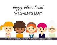 Illustration to Celebrate Women's Day