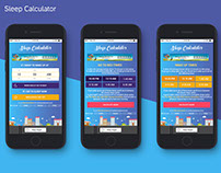 Mobile app | Sleep Calculator
