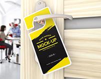 20+ Best Door Hanger PSD Mockup Templates