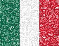 LatinaGrill. Decorative pattern
