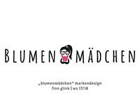 Blumenmädchen Logodesign