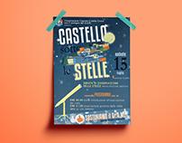 """Locandina """"Castello sotto le Stelle"""""""