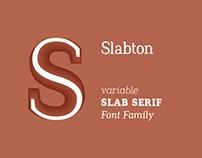Slabton Font Family