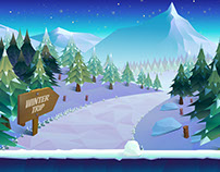 13 Fresh Game Backgrounds
