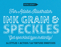 Ink Grain & Speckles - Adobe Illustrator Actions