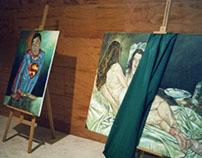 Exposições BEAUTIFUL CREATION e CAVALETE