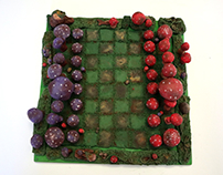 Mushroom Chess Set