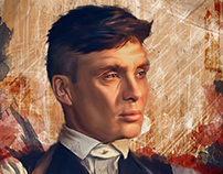 Peaky Blinders Illustrated Series