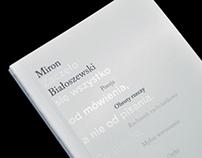 Miron Białoszewski | Editorial Design
