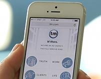 TM.com: Redesign