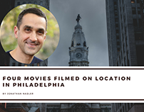 Four Movies Filmed on Location in Philadelphia