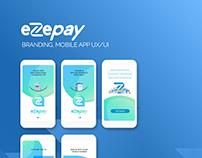 eZePay Mobile App UI Design