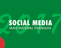 Social Media - Mais Natural Franquia - 2017