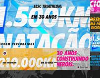 SESC PR - Triathlon 30 Anos