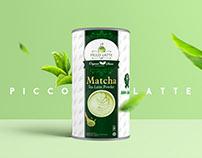 Picco Latte Packaging Design