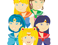 the Sailor Guardians.