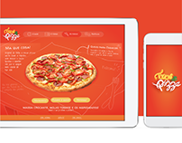 Touch & Pizza — UI/IxD