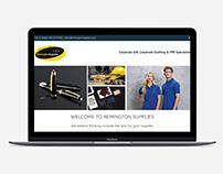 Remington Supplies Website Design