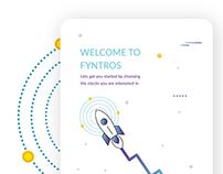 Fyntros - App Design