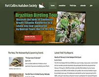 Fort Collins Audubon Society website, Updated