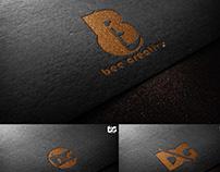 Charcoal Emboss Effect Logo Mockup