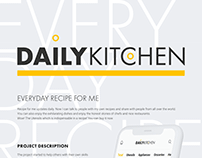 Daily Kitchen UI Design for UI4D