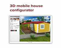 Realtime 3D mobile house configurator