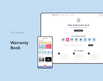 Warranty Book application