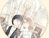 不再是一人的節慶(結婚) Festival not for single anymore (Wedding)