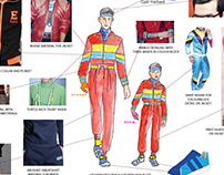 Just Dance 2017 costume design