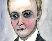 F. Scott Fitzgerald Literary Portrait