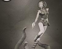 Spacegirl Stories: character design and modeling