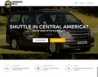 CentroAmerica Shuttle - WordPress Site Design