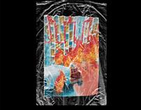 Plastic Wrap Texture Mockup (free)
