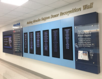 Jackson Digital Donor Recognition Wall