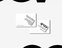 Business Card Design for GROOV.asia (2015)