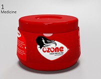 OZONE Product pack design