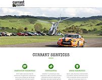 Currant Eevents - Event Management Website