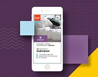 StayAt – Website & digital identity