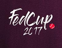 Fed Cup 2017 // Branding & Advertising