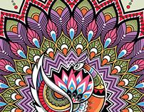 indian style illustration