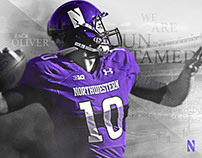 "Northwestern Football ""Untamed"""